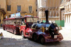 le petit train touristique de Tarragone