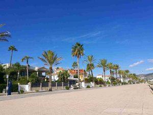 Passeig Maritim à Sitges