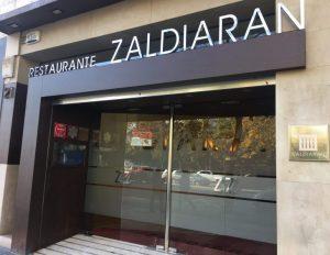 Restaurant Zaldiaran étoilé