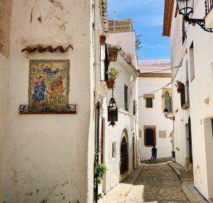 l'ancienne ville de Sitges