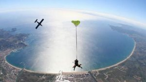 le centre de parachutisme