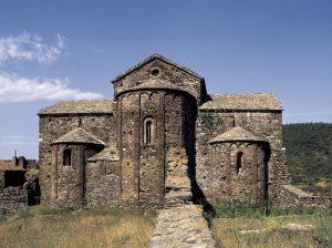 le monastère de Sant Quirze de Colera