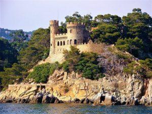 le château de Sant Joan à Blanes